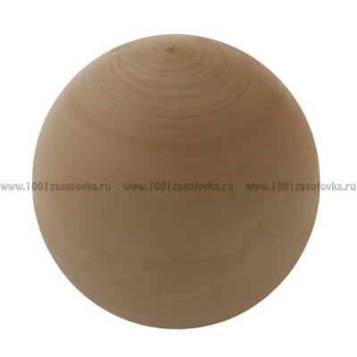 Елочный шар из дерева большой (разборный)