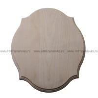 Деревянная заготовка панно (фигурный рез) с фаской по краю 28,8 х 23,5 х 1,5 см