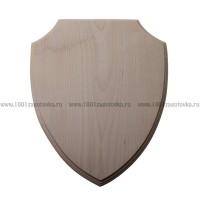 Деревянная заготовка панно (фигурный рез) с фаской по краю 29 х 23,5 х 1,5 см