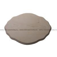 Деревянная заготовка панно (фигурный рез) с фаской по краю 30,3 х 21,7 х 1,5 см