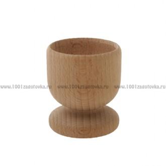 Деревянная подставка под яйцо (рюмка)