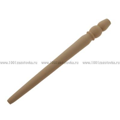 "Ручка из дерева ""Снеговик-2"""